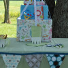 Let's Have a Party: Mustache Baby Shower Gift Cake