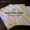{Guest Post} DIY Watercolor Notecards