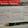 {Guest Post} Dutch Birthday Calendars