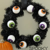Spooky Eyeball Wreath