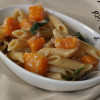 Penne with Butternut Squash and Sage #pastanight
