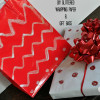 Make Your Own Glittered Wrapping Supplies