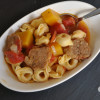 Spicy Sausage and Tortellini Soup
