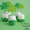 St. Patrick's Day Marshmallow Pops