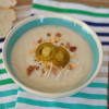 Gluten Free Loaded Cauliflower Soup