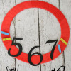 Back to School Wreath with Numbers