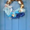 Beachy Seashell Wreath
