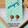 Chocolate Chip Cookie Earrings {Guest Post}
