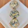 Spicy Spinach Artichoke Stuffed Mushrooms