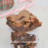 Mint Chocolate Olive Oil Brownies