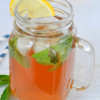 Lemon Ginger Iced Tea Mojito