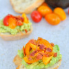 Bacon Avocado Crostini