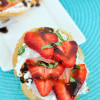 Strawberry Goat Cheese Crostini