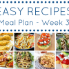 The Easy Dinner Recipes Meal Plan – Week 3