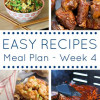 The Easy Dinner Recipes Meal Plan – Week 4