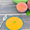 Roasted Peach Soup