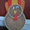 Gobble, Gobble Goes the Embroidery Hoop