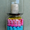 Easy Easter Crafts - Peep and Jelly Bean Vase