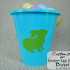 Easy Easter Crafts - Customized Easter Buckets