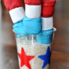 Food for July 4th: Red, White and Blue Firecrackers
