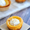 TBT: Mini Pumpkin Cheesecakes