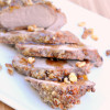 Walnut Crusted Pork Tenderloin