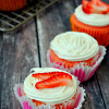 Strawberry Prosecco Cupcakes - TBT