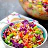 Rainbow Farro Salad