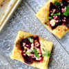 Roasted Beet and Blue Cheese Tart