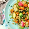Dijon Vegetable and Lentil Salad
