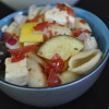 Pasta Salad with Prosciutto and Summer Squash