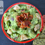 Homemade Bacon Guacamole