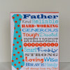 Father's Day Display {Plus Free Printable}