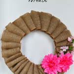 {Late} Spring / {Early} Summer Burlap Wreath