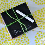 Chalkboard Week: Chalkboard Ceramic Coasters