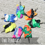 {Guest Post} Molded Owl Pendants