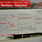 {Guest Post} Dutch Birthday Calendars
