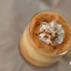 Eggnog and Pumpkin Mousse - Layered Desserts