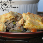 Carrot Cauliflower Shepherd's Pie