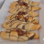 Peanut Butter Nutella Crescent Rolls