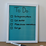 DIY Dry Erase Board for $5