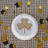 St. Patrick's Day Striped Clover Plate #CreativeBuzz