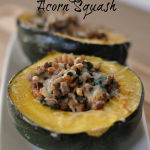 Come Visit Me - Stuffed Acorn Squash