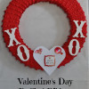 Valentine's Day Ruffled Ribbon Wreath