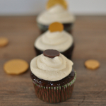 Irish Coffee Cupcakes with Whipped Cream Frosting