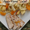 Citrus Pork Chops with Apple, Orange and Fennel Salad Recipe
