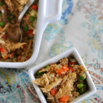 Teriyaki Chicken Quinoa Bake