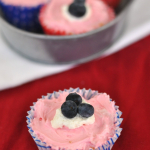 Red, White and Blue No Bake Cheesecake Recipe