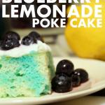 Blueberry Lemon Poke Cake {Guest Post}