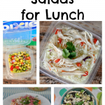 5 Perfect Lunch Salads with #DixieQuicktakes